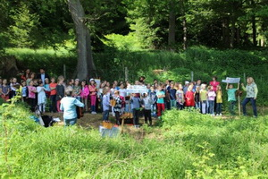 Schulwaldfest im Frühjahr 2014