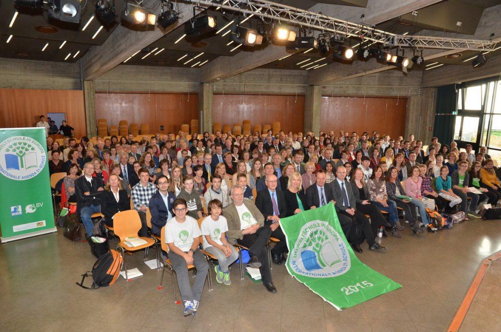 Auszeichnung oberbayerischer, niederbayerischer und schwäbischer Umweltschulen